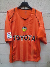 Maillot VALENCE VALENCIA 2005 away shirt jersey camiseta NIKE orange football XL