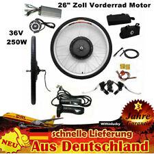 "26"" Zoll Vorderrad Motor E-Bike Conversion Kit Elektrofahrrad Umbausatz 250W Neu"