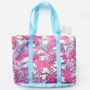 my melody pink shopping bag handbag travel fold bags recycle bag hot