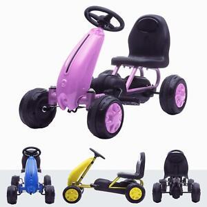 RiiRoo My1st Pedal Go Kart Kids Ride On Manual Pedal Go Kart