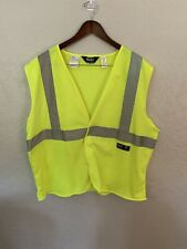 Walls Work Wear 3m Reflective Material Safety Work Vest Xl Bc