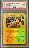 Pokemon Skyridge Electrode Reverse Holo #36 - PSA 9
