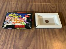 Pocky & Rocky 1 (Super Nintendo, SNES) -- Authentic / Original Box Only --