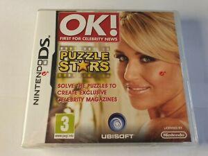 OK Puzzle Stars Nintendo DS Game New & Sealed FREE UK POSTAGE