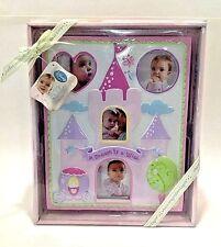 DISNEY PICTURE FRAME MILESTONE BABY GIRL PRINCESS GIFT NEW IN BOX