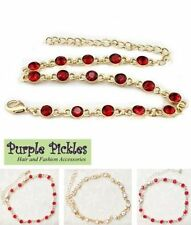 Rhinestone Fashion Anklets