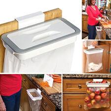 Kitchen Waste Bag Holder Hanging Rubbish/Trash Carrier Bin Bag Cupboard Hanger