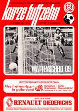 II. BL  81/82 Rot-Weiß Essen - SG Wattenscheid 09, 23.10.1981
