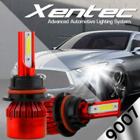 XENTEC LED HID Headlight kit 9007 HB5 White for 2003-2004 Mitsubishi Outlander