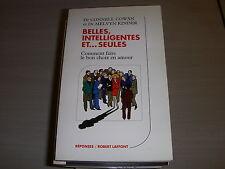 LIVRE COWAN et KINDER BELLES INTELLIGENTES et...SEULES Ed LAFFONT 1986 230pages