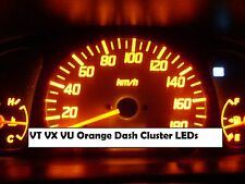 VT VX VU Orange LED Dash Conversion Fits Commodore Berlina Calais Statesman SS
