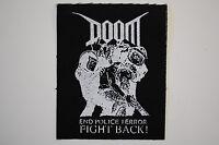 A Global Threat Back Patch BP92 Crust Punk Aus Rotten Doom Infest Dirt