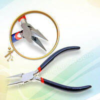 """Chain nose pliers Snipe Nose Jewellery making craft tools spring Prestige 5"""""""
