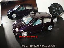 EAGLE GARA 1826 RENAULT SPORT CLIO V6 Viola per la 1/43°