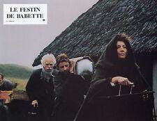 STEPHANE AUDRAN  LE FESTIN DE BABETTE 1987 VINTAGE PHOTO N°12  BABETTE'S FEAST