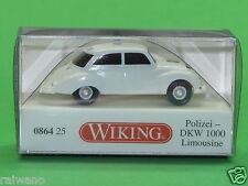 1:87 Wiking 086425 Polizei DKW 1000 Limousine Blitzversand per DHL-Paket