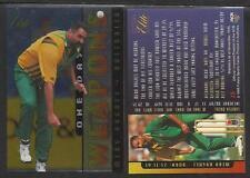FUTERA 1996 CRICKET ELITE MERV HUGHES ONE-DAY WEAPONS CARD No 20