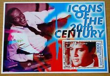 Elvis Presley Icons Of The 20th Century Somalia Republic 2001 Stamp Sheet MNH