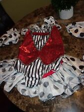 GIRLS DANCE COSTUME/DRESS UP OR PLAY LEOTARD 12C