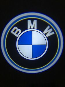 For BMW Courtesy Door LED Logo Projector Light 2Pc Shadow Welcome Light