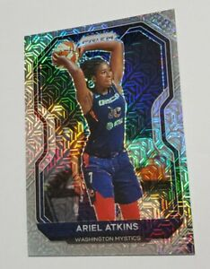 2021 PANINI WNBA Prizm ARIEL ATKINS #/25 MOJO #33 WASHINGTON MYSTICS 1day 🔥