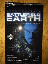 Battlefield Earth Trading Cards sealed pack 1999