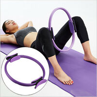 Pilates Ring Yoga Circle Muscle Exercise Fitness Body Trainer Magic Tool NBR