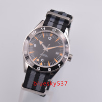Seamaster Steril 41mm Black dial Saphirglas Ceramic date Armbanduhren Mens watch