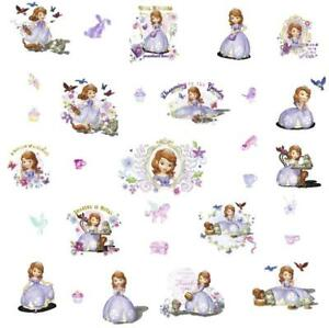PRINCESS SOFIA  WALL STICKER DECAL  NURSERY/KIDS/GIRLS ROOM MURAL
