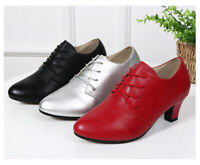 New Ballroom Latin/Tango/Jazz Rubber Sole Outdoor Dance Shoes Ladies/Girls/Women