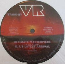 "RJ'S LATEST ARRIVAL ~ Ultimate Masterpiece ~ 12"" Single USA PRESS"