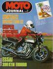 MOTO JOURNAL 541 Test Essai SUZUKI GSX 1100 EZ KTM 390 GS DUCATI 500 DAKAR 1982