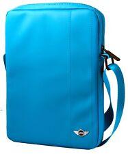 """Genuine Mini Cooper Tablet Bolsa Azul Con Rojo Tubería 10"""" para dispositivos tablas &"""