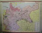 Schulwandkarte Wall Map Germany Industriealisierung 19. Century 242x193