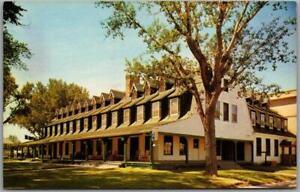 Vintage Sheridan, Wyoming Postcard SHERIDAN INN Street View Chrome 1960s Unused