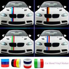 DIY Colored Striped Vinyl Car Sticker Decal Germany Italy French Flag Car New