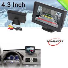 """4.3""""Car Monitor TFT LCD Color DC12V Parking for Rear Camera DVD DVR Adjustable"""