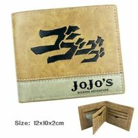 JoJo's Bizarre Adventure Anime Folding Wallet Credit Card Case HXWT Pretty Great