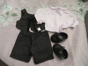 Treasured Toggery Teddy Bear Outfit Suit