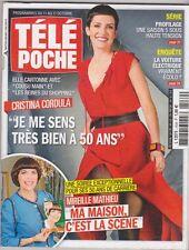 Cristina  Cordula - Mireille Mathieu - Dave -Courbet - Ladesou .TELE POCHE 2539