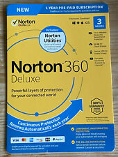 Norton Internet Security 3 PC USER 2020 with Norton Utilities