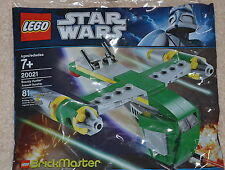 Rare LEGO Polybag 20021 Bounty Hunter Assault Gunship BrickMaster Star Wars NEW