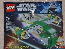 Rare LEGO Polybag 20021 Bounty Hunter Assault Gunship BrickMaster Star Wars NEW