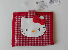 HELLO KITTY Wallet Red Colour Vinyl Cute Collectable Classic item