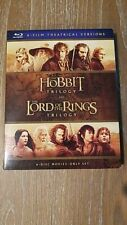 The Hobbit Trilogy and The Lord of the Rings Trilogy (Blu-ray)(Region Free)