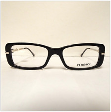 Versace Optical Eyeglass Frames 3122 GB1 50-16-130 Black NEW