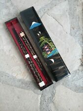 Antique chopsticks never used mount Fuji 1960's ish