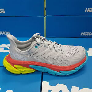 NEW Hoka One One Clifton EDGE 1110510/LRWH Grey/Blue Men's Running Shoes