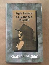 LA RAGAZZA IN NERO - Angela Bianchini - Camunia - 1990