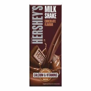 Hershey's Milkshake Chocolate Flavor With Nutrients Calcium & Vitamins 6x200ml